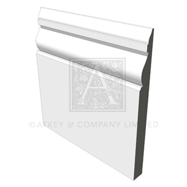 Arts and Crafts Period Skirting Board (ASK0146)